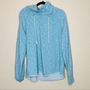 Gap Cowlneck Blue Sweatshirt | size xl